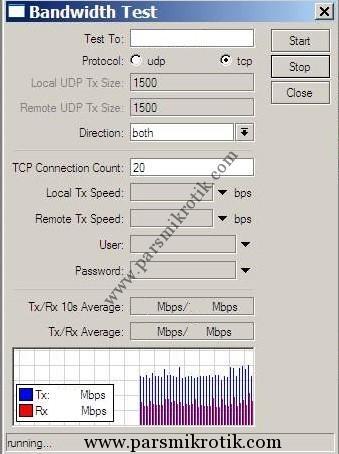 bandwidthtest